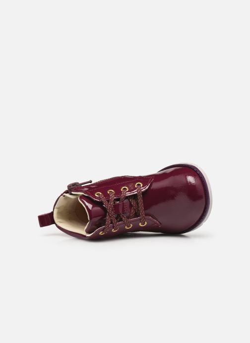 Stiefeletten & Boots Clarks Dabi Lace T weinrot ansicht von links