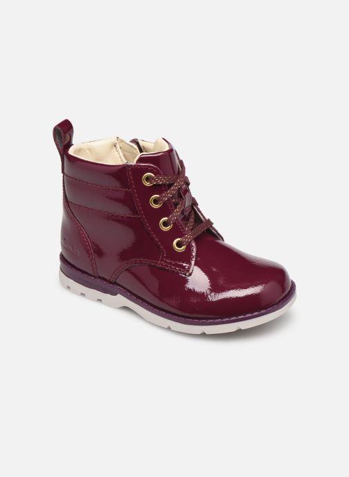 Stiefeletten & Boots Clarks Dabi Lace T weinrot detaillierte ansicht/modell