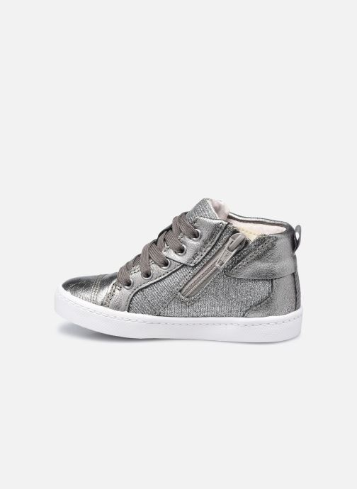 Sneakers Clarks City Myth T Argento immagine frontale