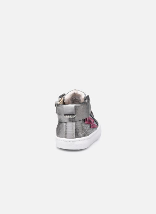 Sneakers Clarks City Myth T Argento immagine destra