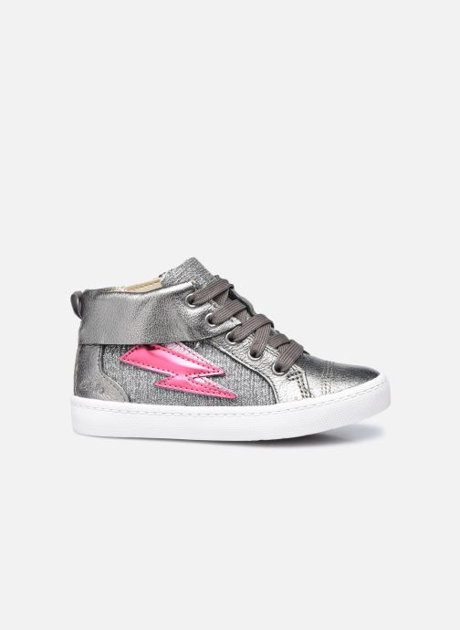 Sneakers Clarks City Myth T Argento immagine posteriore