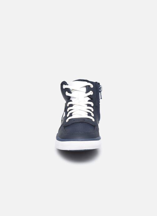 Baskets Clarks City Flake K Bleu vue portées chaussures