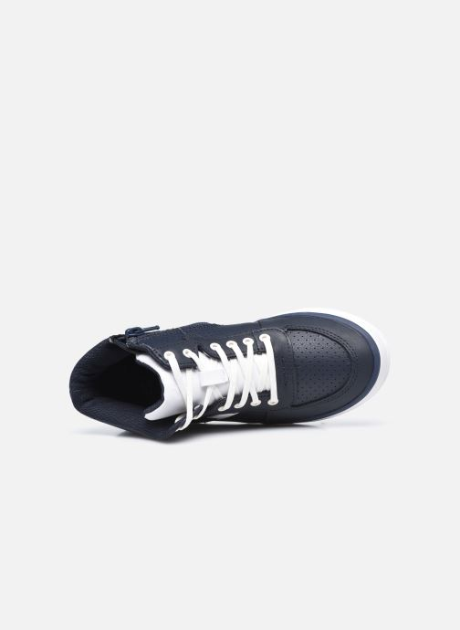Sneakers Clarks City Flake K Azzurro immagine sinistra
