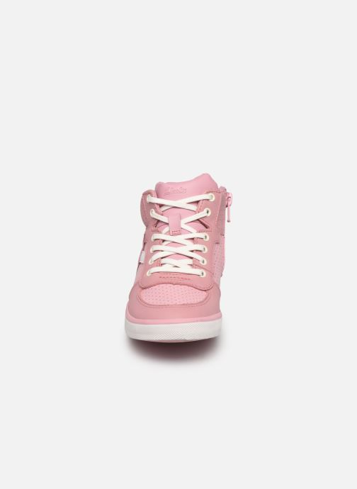 Sneaker Clarks City Flake K rosa schuhe getragen