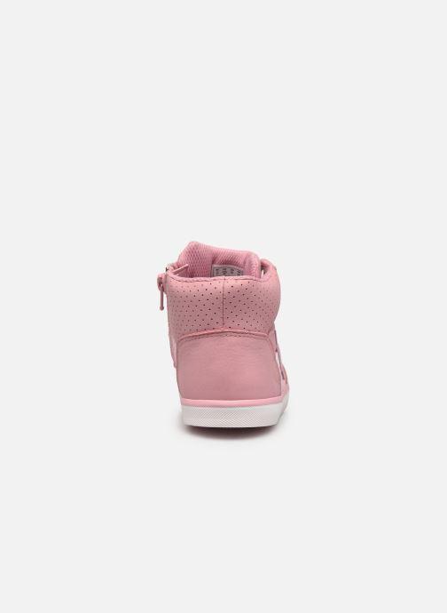 Sneaker Clarks City Flake K rosa ansicht von rechts