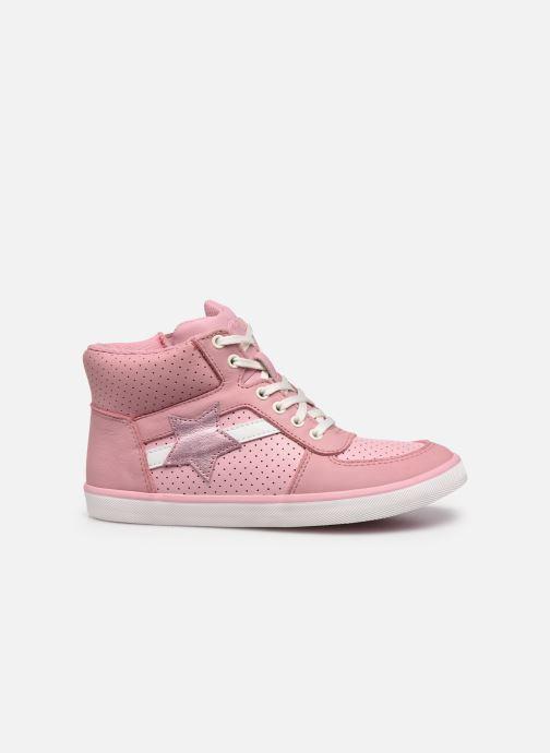 Sneaker Clarks City Flake K rosa ansicht von hinten