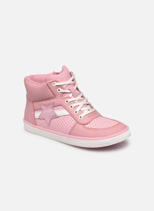 Sneaker Clarks City Flake K rosa detaillierte ansicht/modell