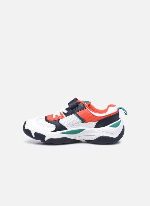 Sneaker Clarks Kuju Run K weiß ansicht von vorne