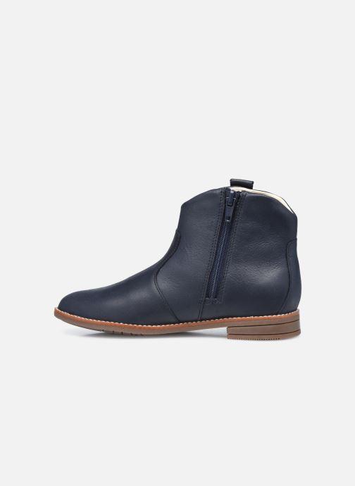Stiefeletten & Boots Clarks Drew North K blau ansicht von vorne