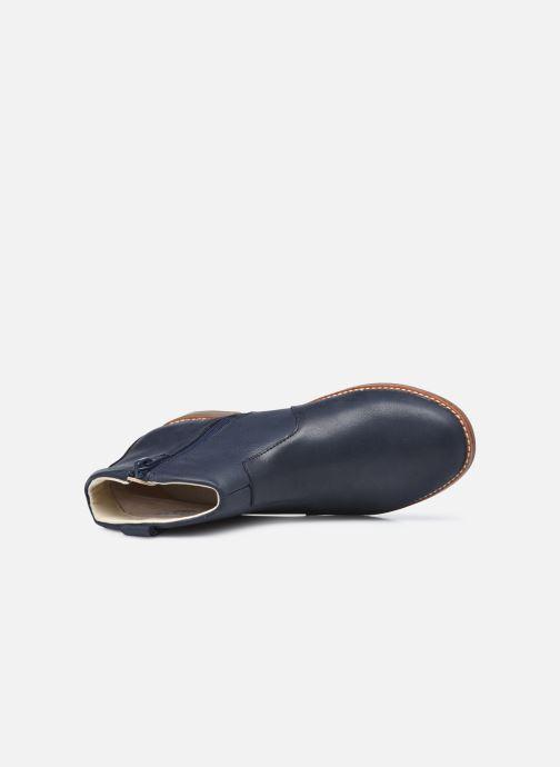 Stiefeletten & Boots Clarks Drew North K blau ansicht von links