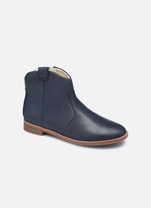 Bottines et boots Clarks Drew North K Bleu vue détail/paire