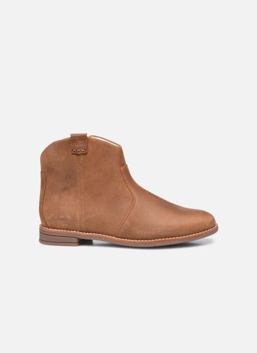Bottines et boots Clarks Drew North K Marron vue derrière