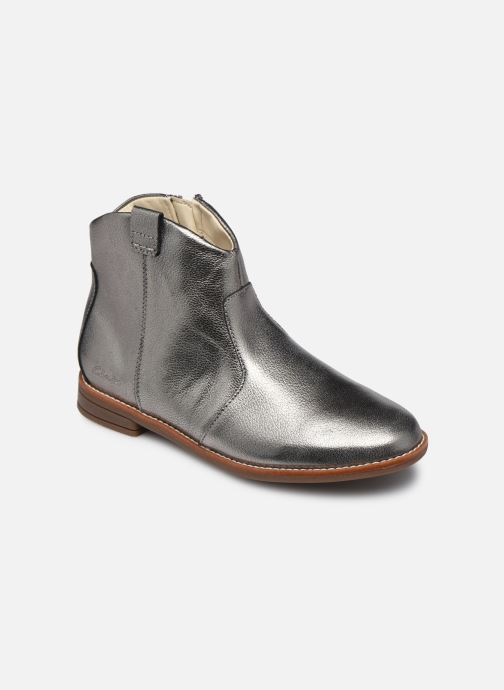 Bottines et boots Clarks Drew North K Argent vue détail/paire