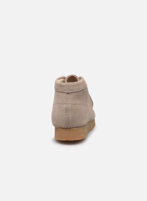 Chaussures à lacets Clarks Wallabee Bt.. Beige vue droite