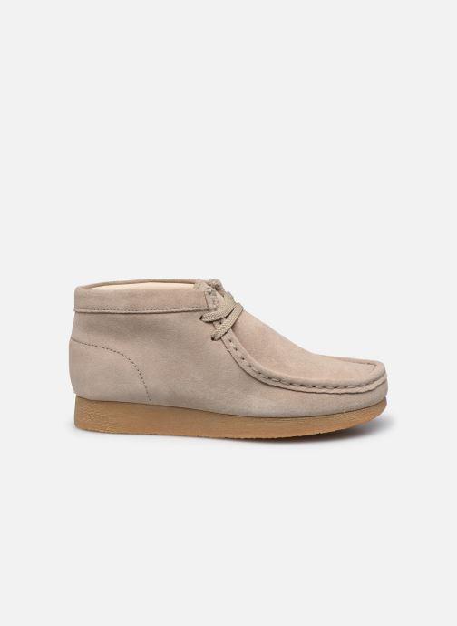 Chaussures à lacets Clarks Wallabee Bt.. Beige vue derrière