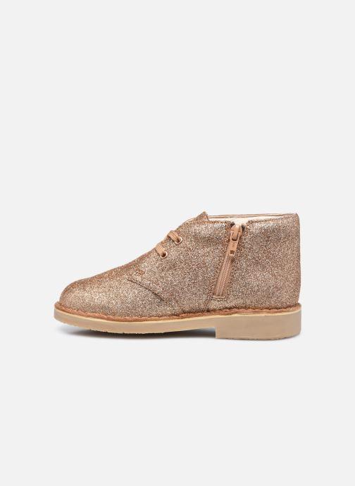 Boots en enkellaarsjes Clarks Desert Boot2 K Goud en brons voorkant
