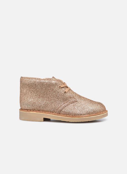 Boots en enkellaarsjes Clarks Desert Boot2 K Goud en brons achterkant