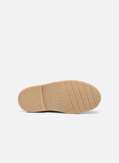 Bottines et boots Clarks Desert Boot2 K Or et bronze vue haut