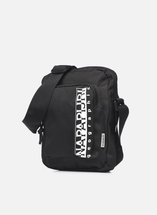 Herrentaschen Napapijri Happy Cross Pkt 2 schwarz schuhe getragen