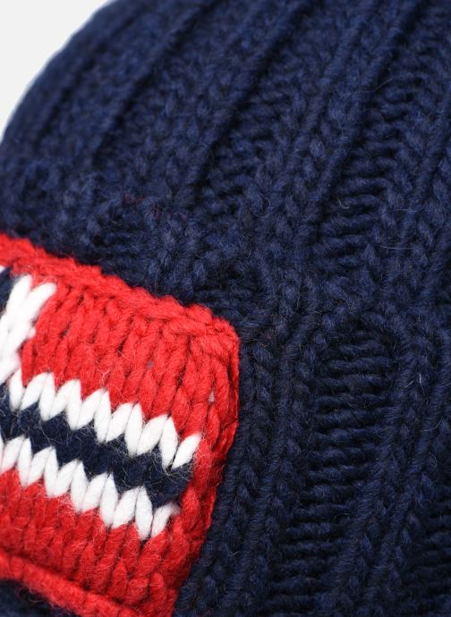 Bonnets Napapijri Semiury 3 Bleu vue face