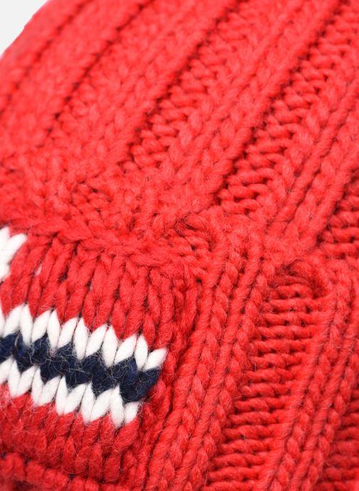 Bonnets Napapijri Semiury 3 Rouge vue face