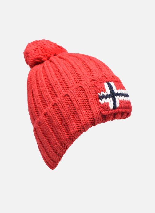 Bonnets Napapijri Semiury 3 Rouge vue détail/paire