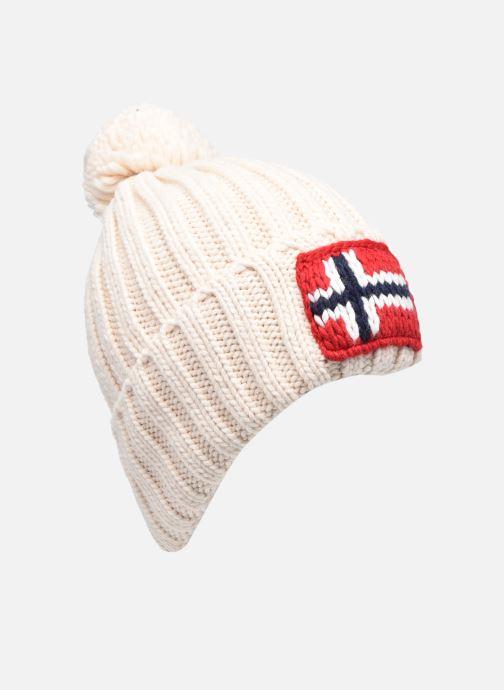 Bonnets Napapijri Semiury 3 Blanc vue détail/paire