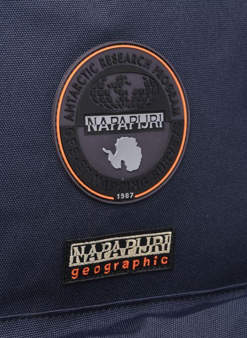 Rucksäcke Napapijri Voyage 2 blau ansicht von links