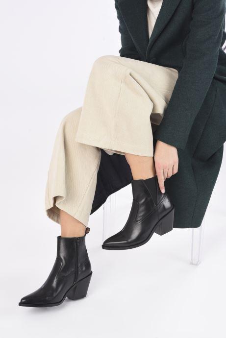 Bottines et boots Scotch & Soda ABBEY Noir vue bas / vue portée sac