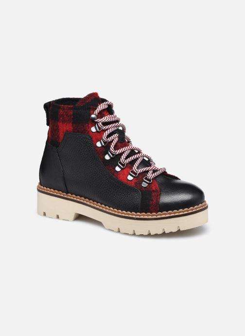 Ankelstøvler Scotch & Soda OLIVINE Sort detaljeret billede af skoene