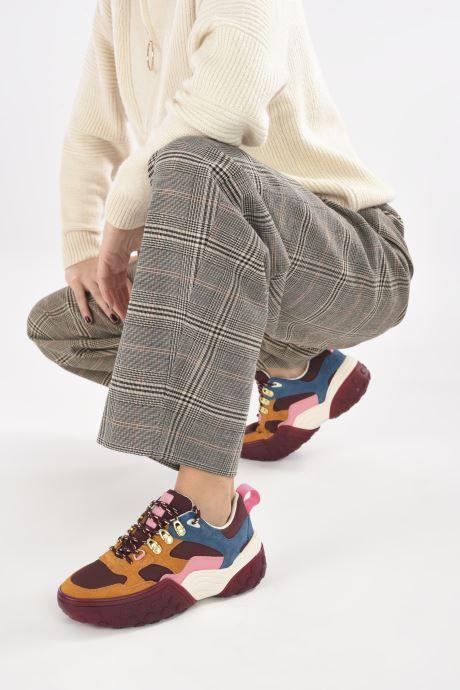 Baskets Scotch & Soda BELVA Multicolore vue bas / vue portée sac