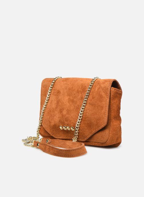 Handtassen Georgia Rose Martha Leather Bruin model