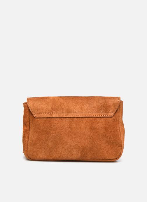 Handtassen Georgia Rose Martha Leather Bruin voorkant