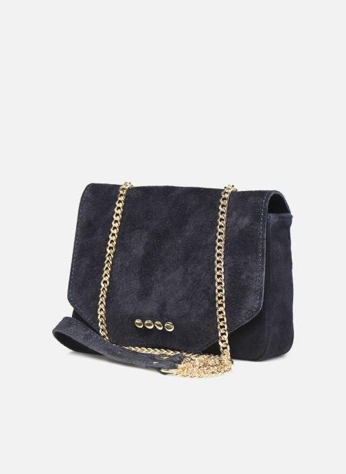 Bolsos de mano Georgia Rose Martha Leather Azul vista del modelo