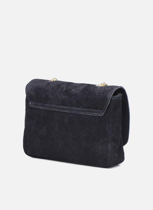 Bolsos de mano Georgia Rose Martha Leather Azul vista lateral derecha