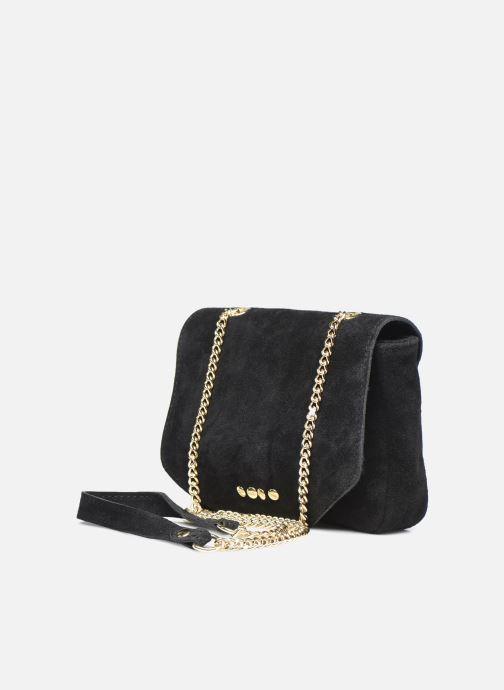 Handtaschen Georgia Rose Martha Leather schwarz schuhe getragen
