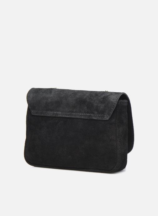 Handtaschen Georgia Rose Martha Leather schwarz ansicht von rechts