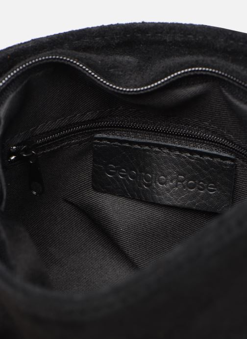 Handtaschen Georgia Rose Martha Leather schwarz ansicht von hinten
