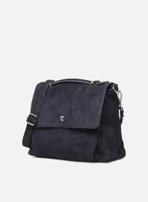 Bolsos de mano Georgia Rose Marilou Leather Azul vista del modelo