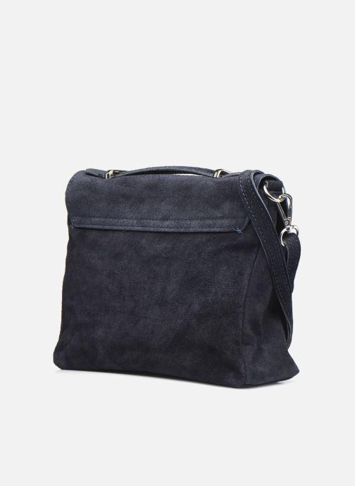 Bolsos de mano Georgia Rose Marilou Leather Azul vista lateral derecha