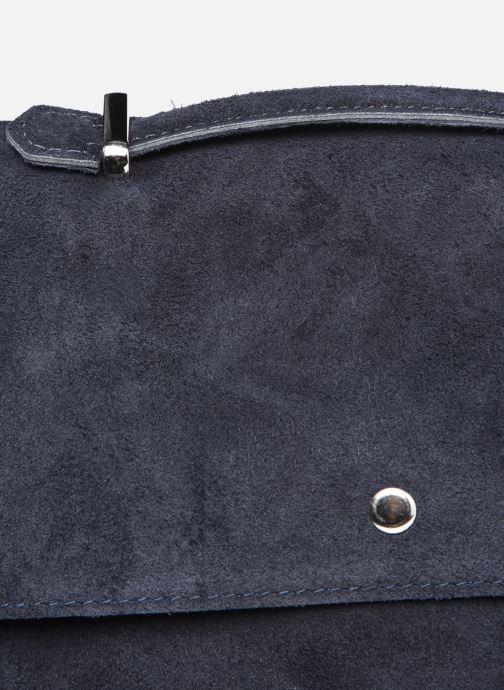 Bolsos de mano Georgia Rose Marilou Leather Azul vista lateral izquierda