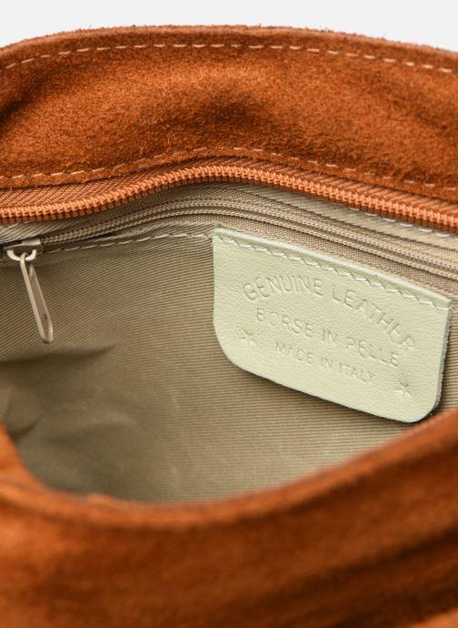 Bolsos de mano Georgia Rose Marilou Leather Marrón vistra trasera