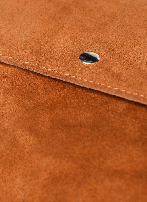 Bolsos de mano Georgia Rose Marilou Leather Marrón vista lateral izquierda