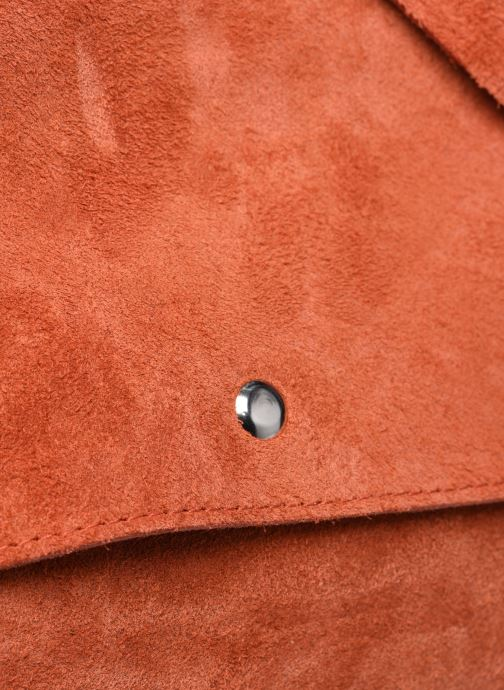 Bolsos de mano Georgia Rose Marilou Leather Rojo vista lateral izquierda