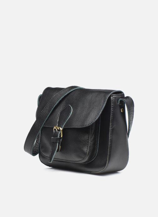 Handtaschen Georgia Rose Magali Leather schwarz schuhe getragen