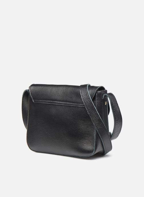 Handtaschen Georgia Rose Magali Leather schwarz ansicht von rechts