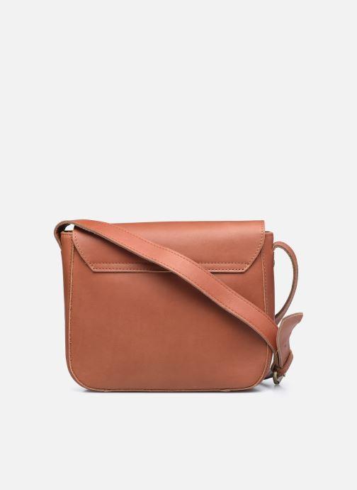 Handtassen Georgia Rose Magali Leather Bruin voorkant