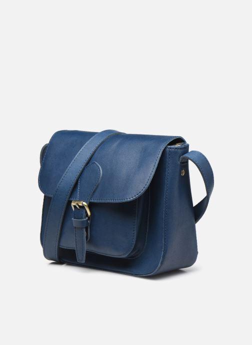 Bolsos de mano Georgia Rose Magali Leather Azul vista del modelo