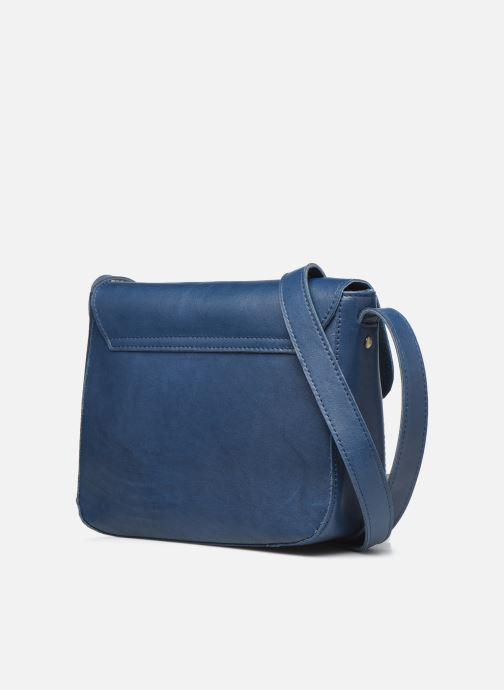 Sacs à main Georgia Rose Magali Leather Bleu vue droite