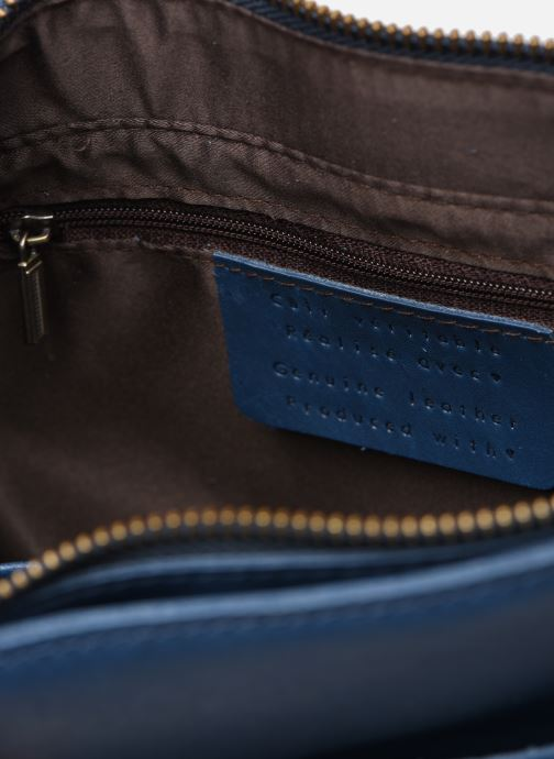 Handtassen Georgia Rose Magali Leather Blauw achterkant